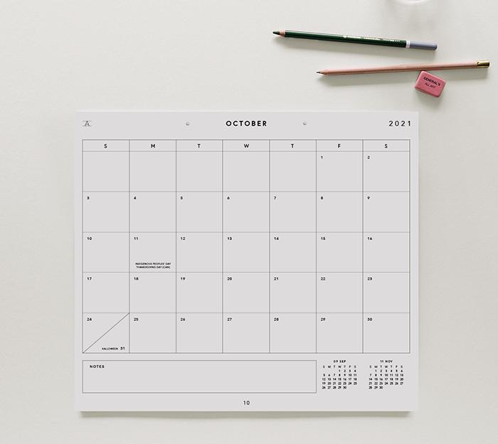 appointed - studio calendar 17 mois - 1