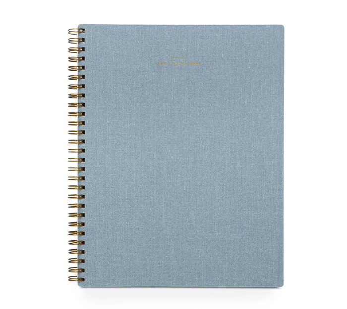 appointed - task planner academic - 2021-2022 - chambray blue