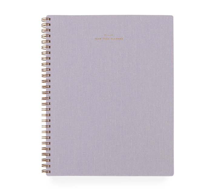 appointed - task planner academic - 2021-2022 - lavender grey