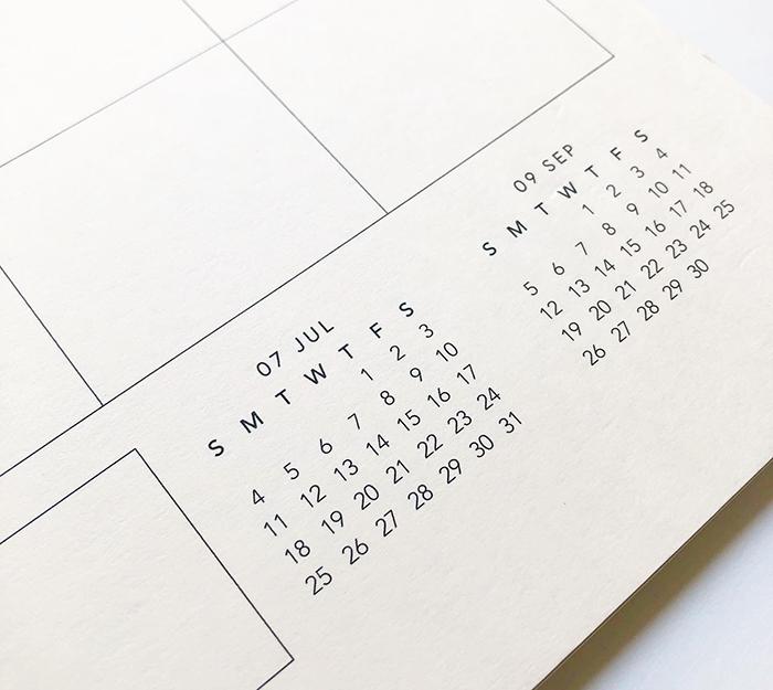 appointed - studio calendar 17 mois - 4